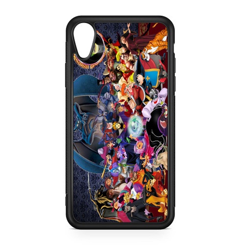 Disney All Villians Characters Iphone Xs Case Caseshunter