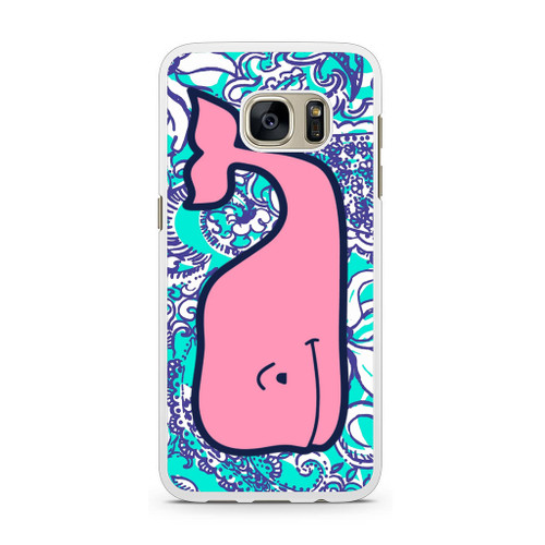new products 4288e d0d2f LILLY PULITZER VINEYARD VINES Samsung Galaxy S7 Case