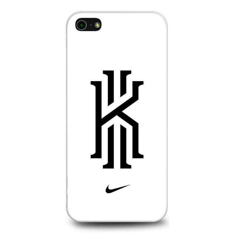 Kyrie Irving Nike Logo White1 iPhone 5/5S/SE Case