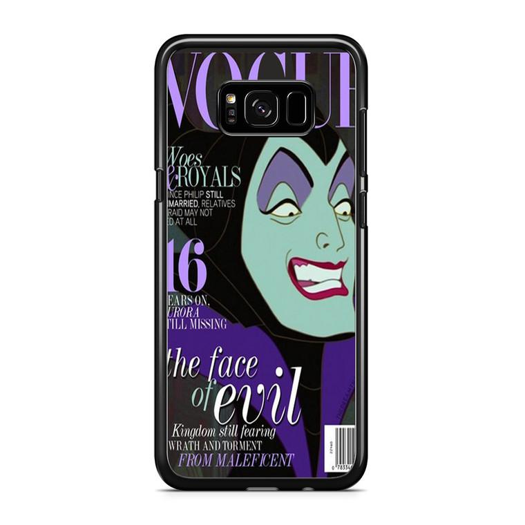 Maleficent Vogue Samsung Galaxy S8 Plus Case