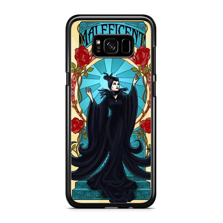 Maleficent With Flower Samsung Galaxy S8 Plus Case