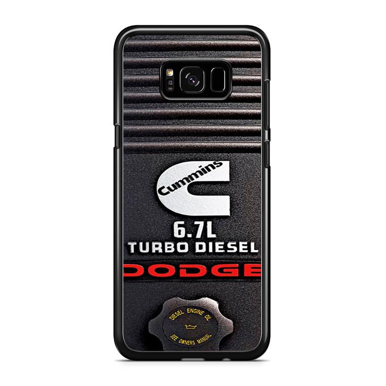 Dodge Cummins Turbo Diesel Samsung Galaxy S8 Plus Case