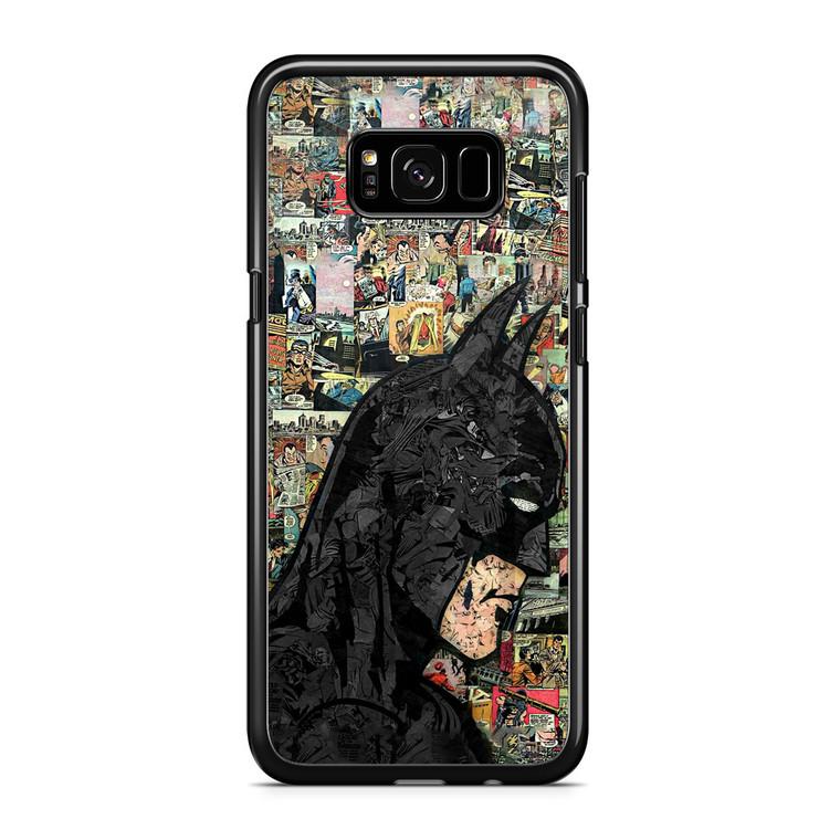 Batman Comics Patern Samsung Galaxy S8 Plus Case