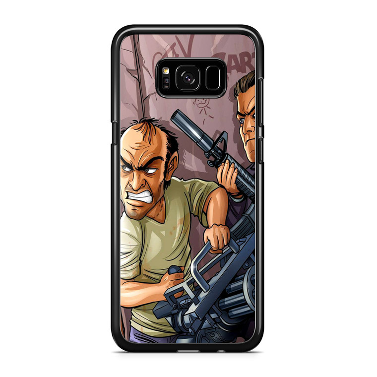 Gta V Game Art Samsung Galaxy S8 Plus Case