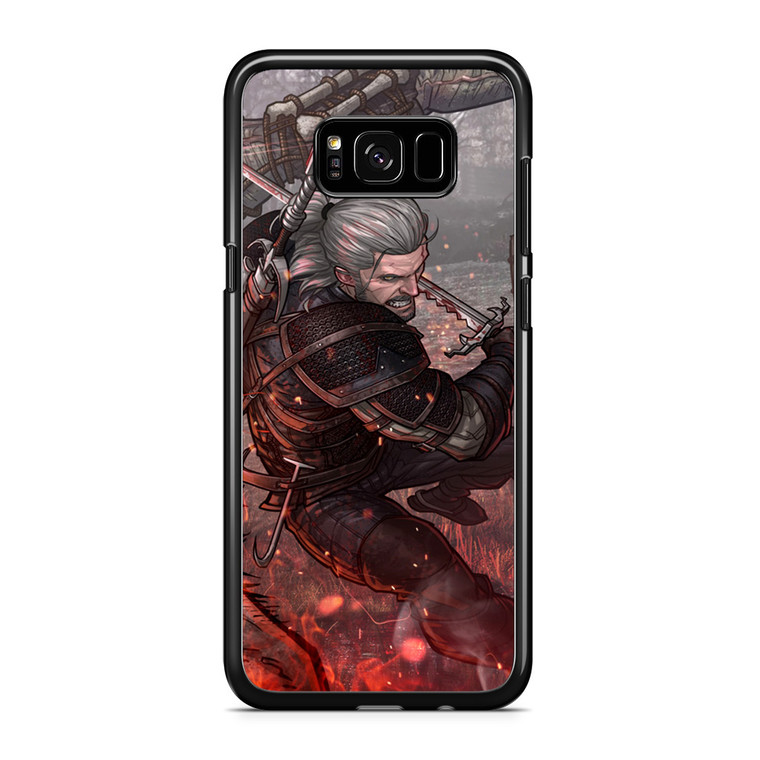 The Witcher 3 Poster Samsung Galaxy S8 Plus Case