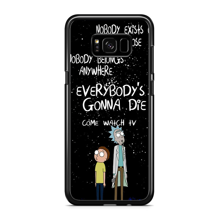 Rick And Morty 2 Samsung Galaxy S8 Plus Case