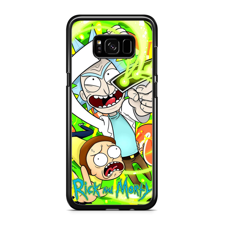 Rick And Morty 3 Samsung Galaxy S8 Plus Case