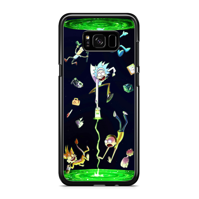 Rick And Morty Fan Art Samsung Galaxy S8 Plus Case