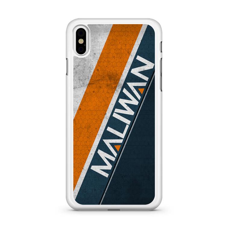 Borderlands Maliwan iPhone X Case