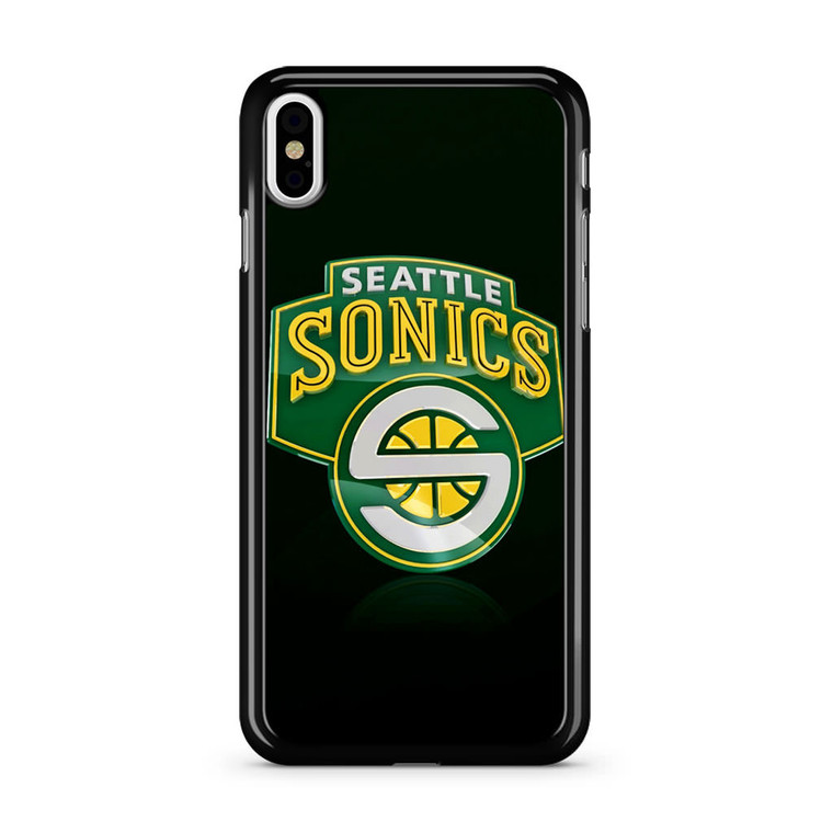 Seattle Sonics iPhone X Case