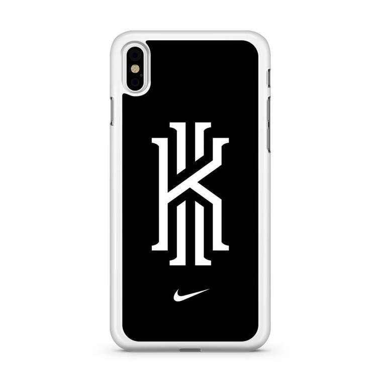 Kyrie Irving Nike Logo Black1 iPhone X Case