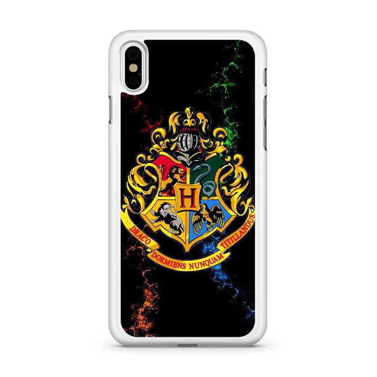 Harry Potter Hogwarts Emblem iPhone X Case