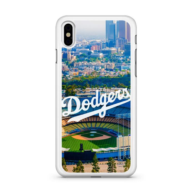 LA Dodgers iPhone X Case