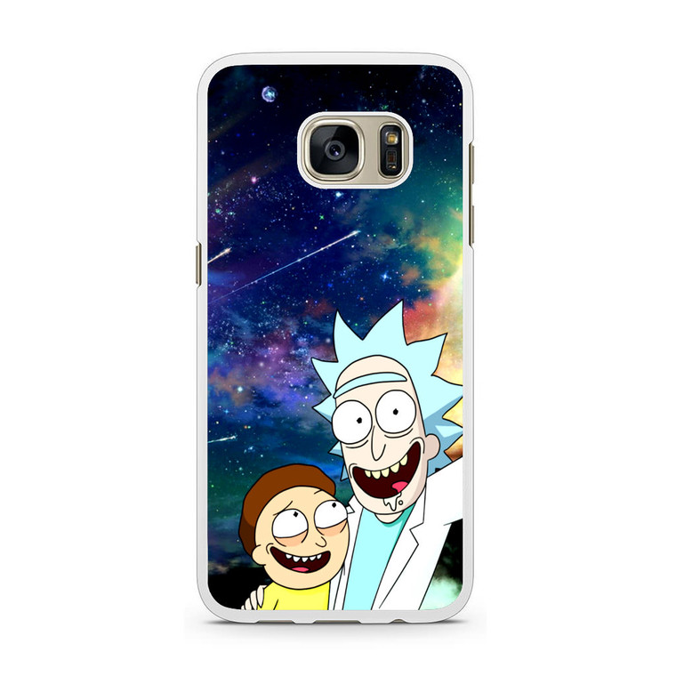 Rick and Morty Samsung Galaxy S7 Case