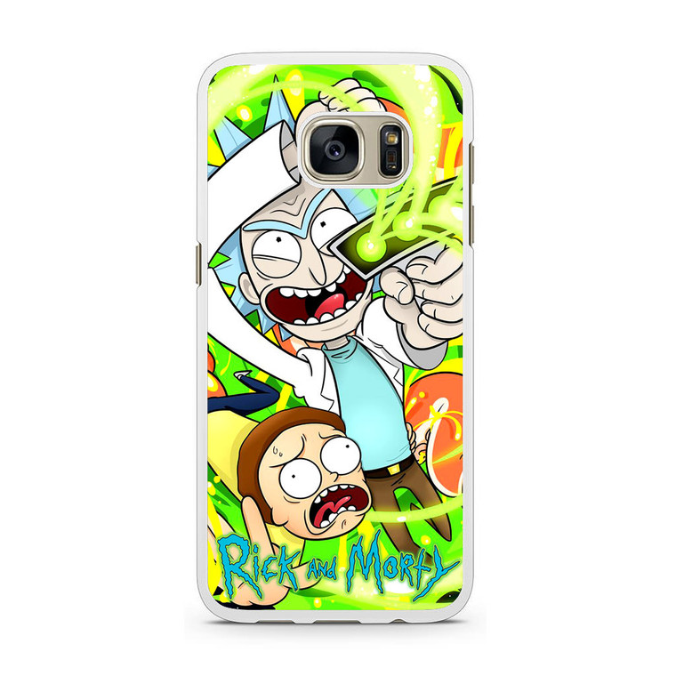 Rick And Morty 3 Samsung Galaxy S7 Case