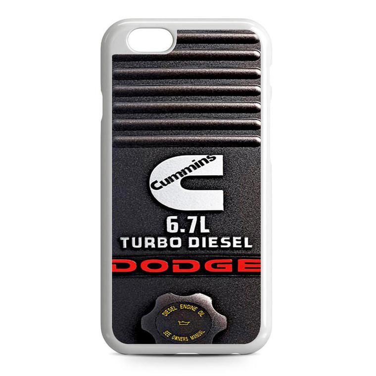 Dodge Cummins Turbo Diesel iPhone 6/6S Case