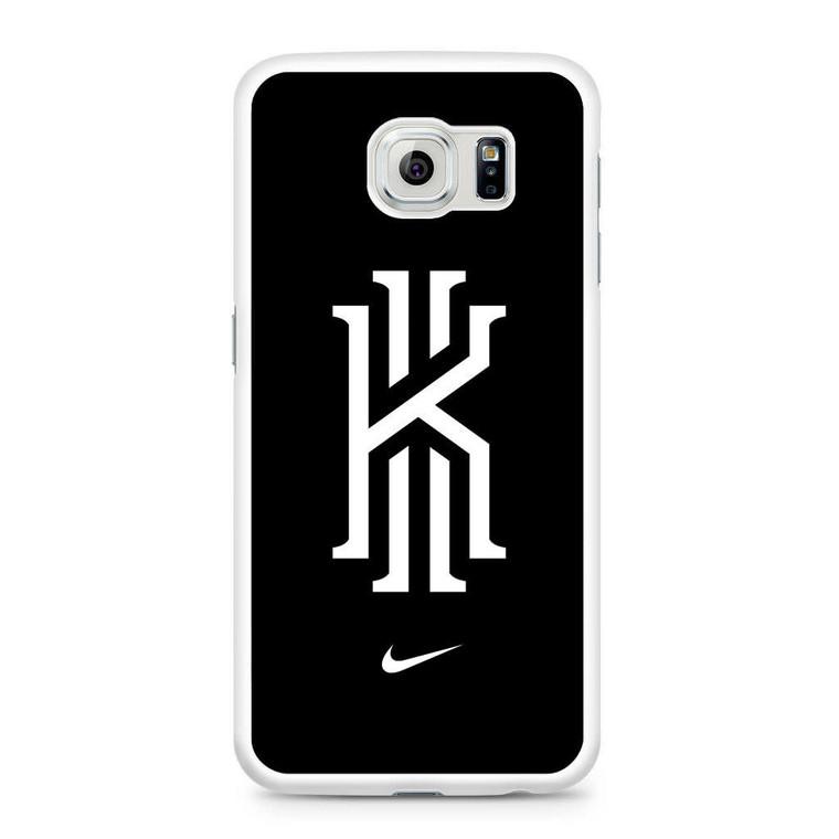 Kyrie Irving Nike Logo Black1 Samsung Galaxy S6 Case
