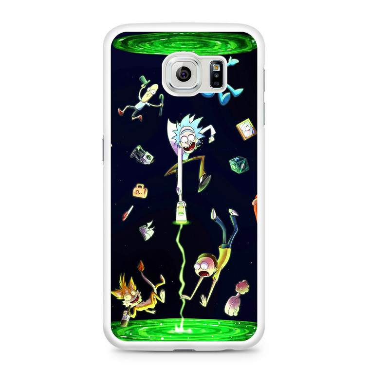 Rick And Morty Fan Art Samsung Galaxy S6 Case