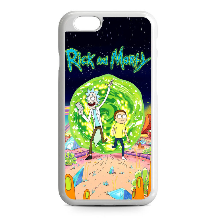 Rick and Morty Poster iPhone 6/6S Case
