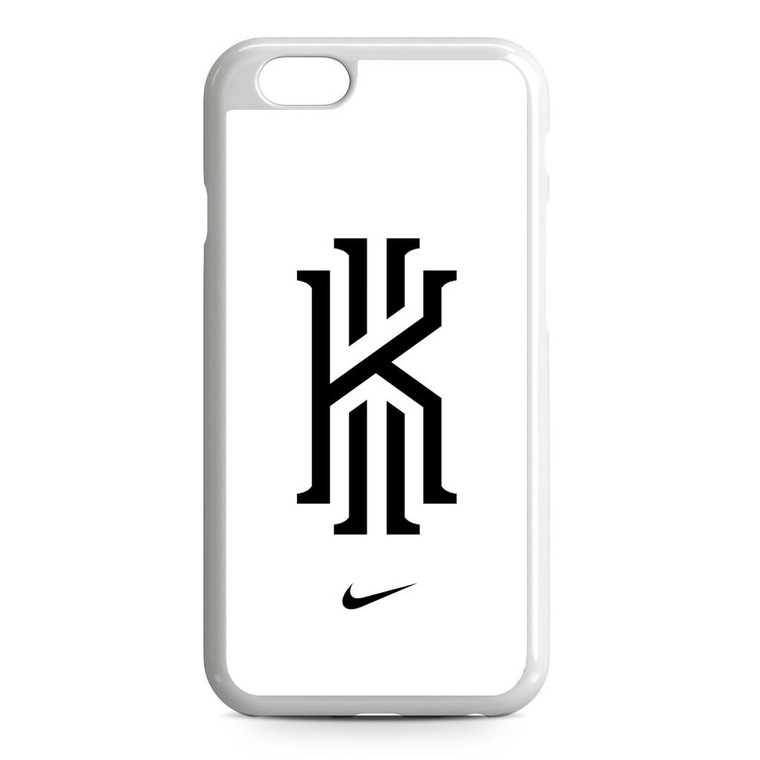Kyrie Irving Nike Logo White1 iPhone 6/6S Case