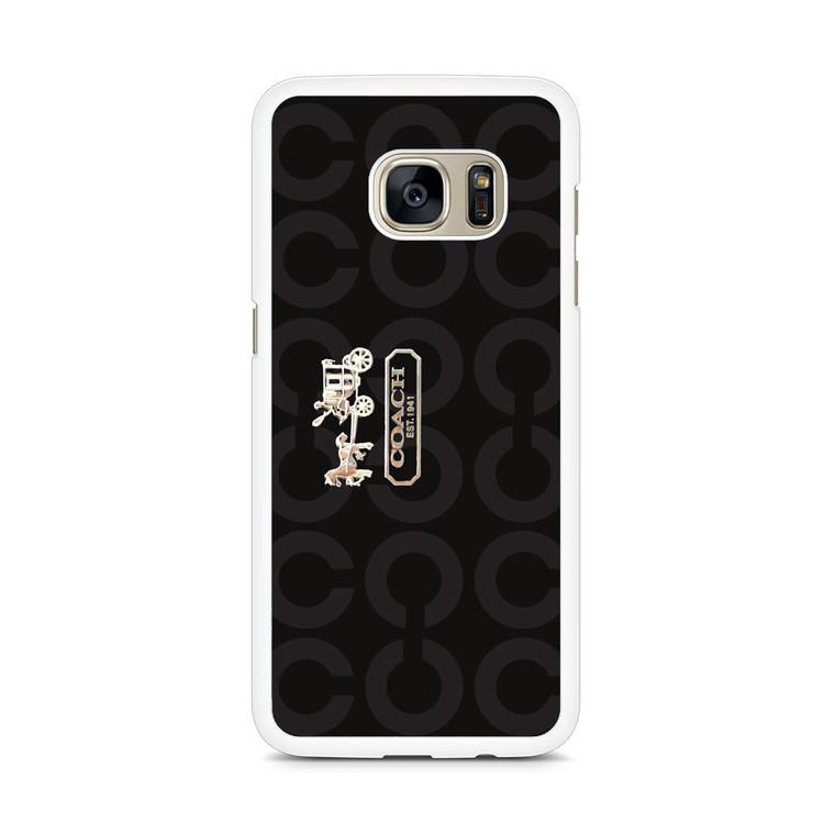 Coach Bag Samsung Galaxy S7 Edge Case