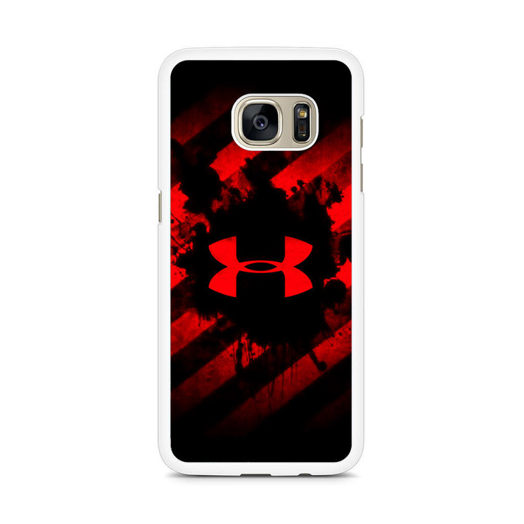 Under Armour Red Art Samsung Galaxy S7 Edge Case