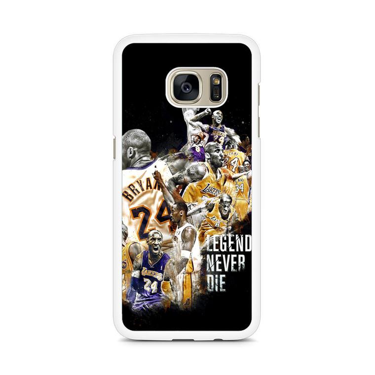 Kobe Bryant Legends Never Die Samsung Galaxy S7 Edge Case
