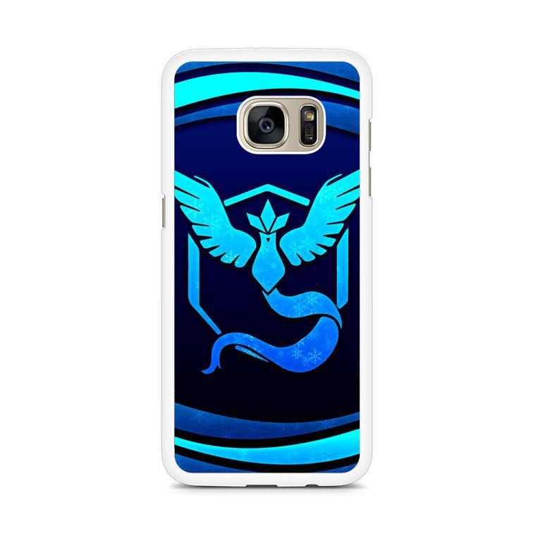 Video Game Pokemon Go Team Mystic Samsung Galaxy S7 Edge Case