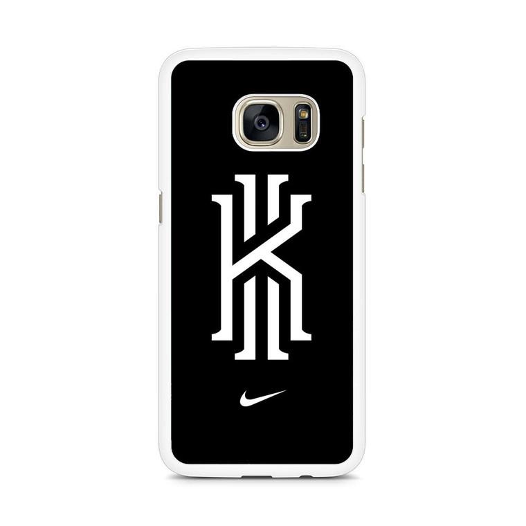 Kyrie Irving Nike Logo Black1 Samsung Galaxy S7 Edge Case