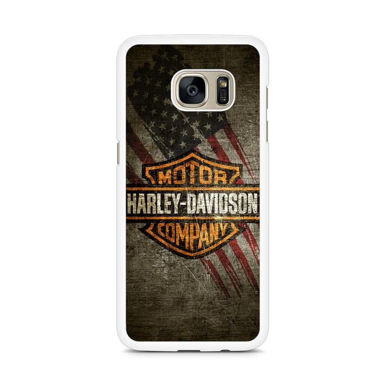 HD Harley Davidson Samsung Galaxy S7 Edge Case