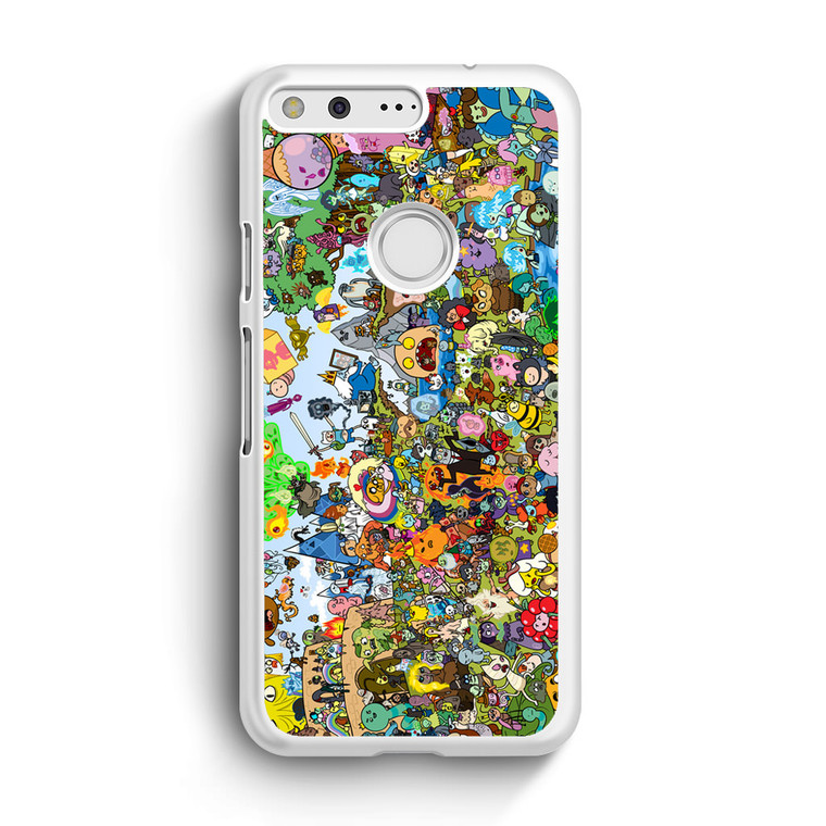 Adventure Time All Character Google Pixel XL Case