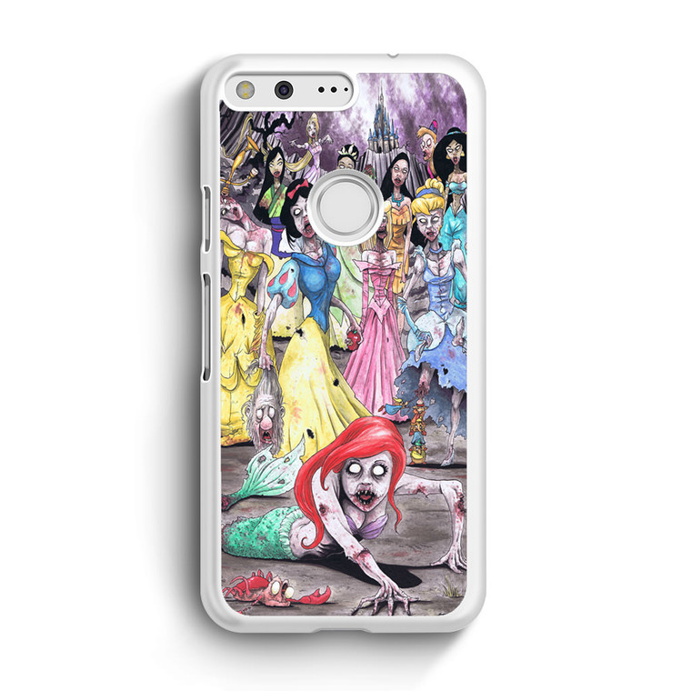 All Princess Disney Zombie Google Pixel XL Case