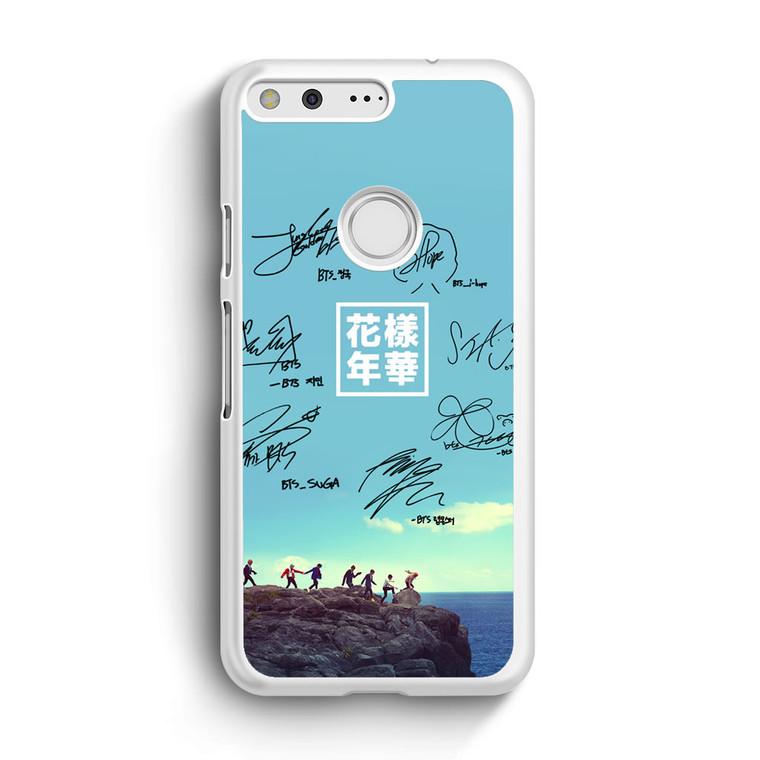 BTS Signature1 Google Pixel XL Case
