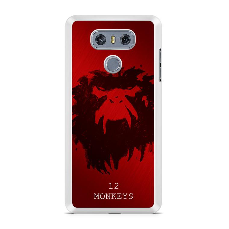 12 Monkeys LG G6 Case