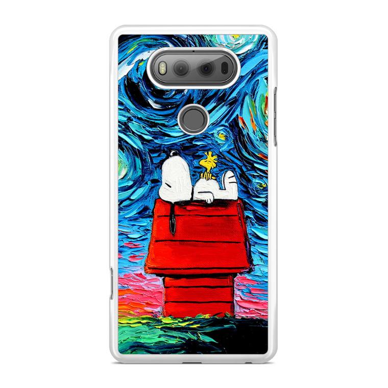 Snoopy Starry Night Van Gogh LG V20 Case