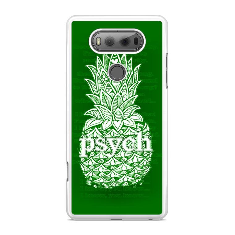 Psych Pineaple LG V20 Case