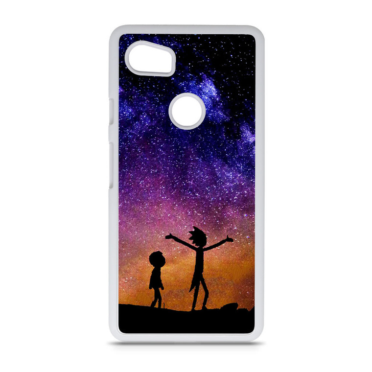 Rick and Morty Space Nebula Google Pixel 2 XL Case