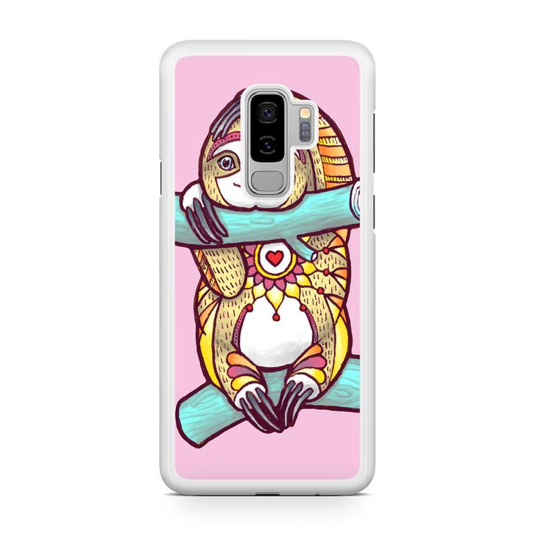 Mandala Sloth Samsung Galaxy S9 Plus Case