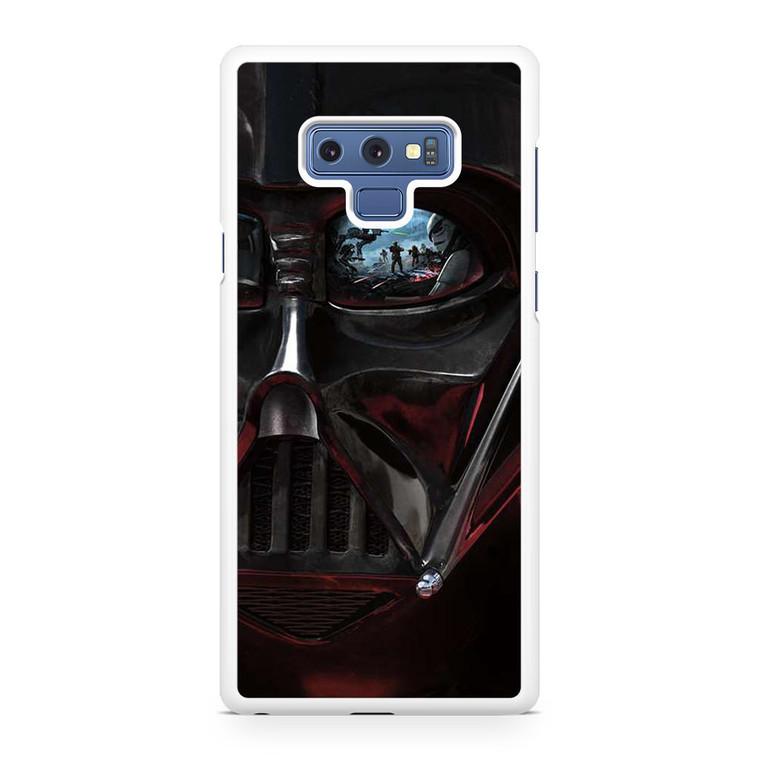 Star Wars Darth Vader Eye Samsung Galaxy Note 9 Case