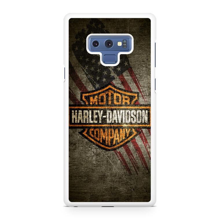 HD Harley Davidson Samsung Galaxy Note 9 Case