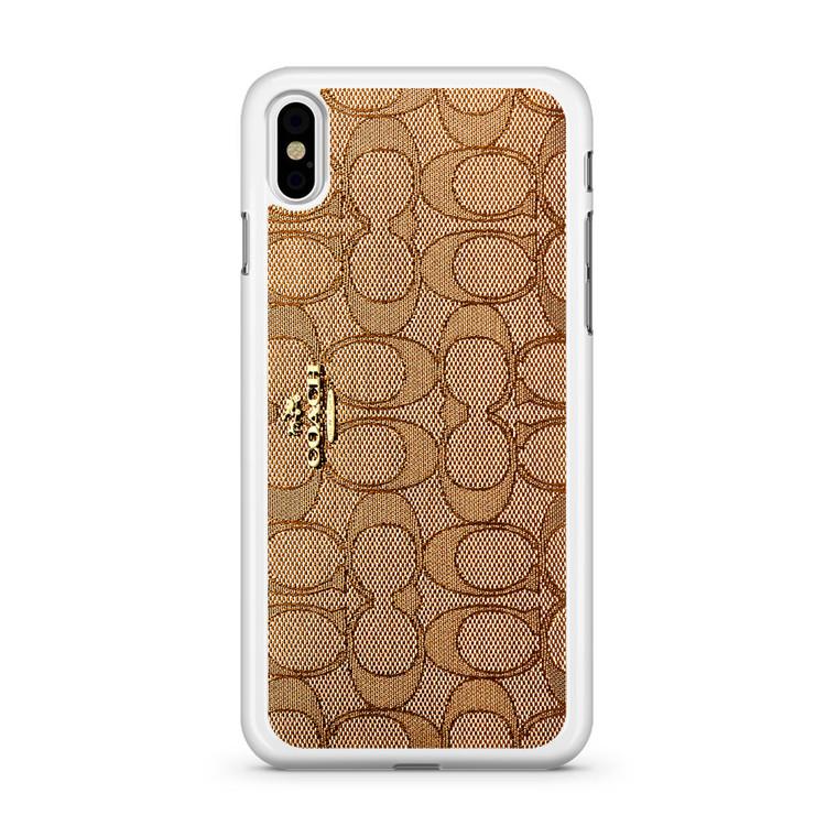 Coach Wallet iPhone Xs Case