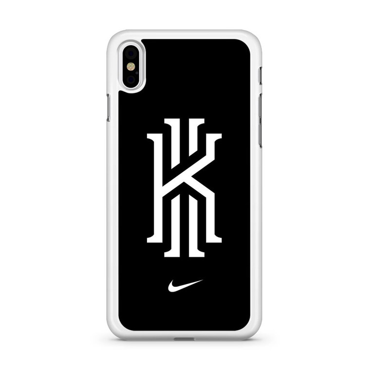 Kyrie Irving Nike Logo Black1 iPhone XS Max Case