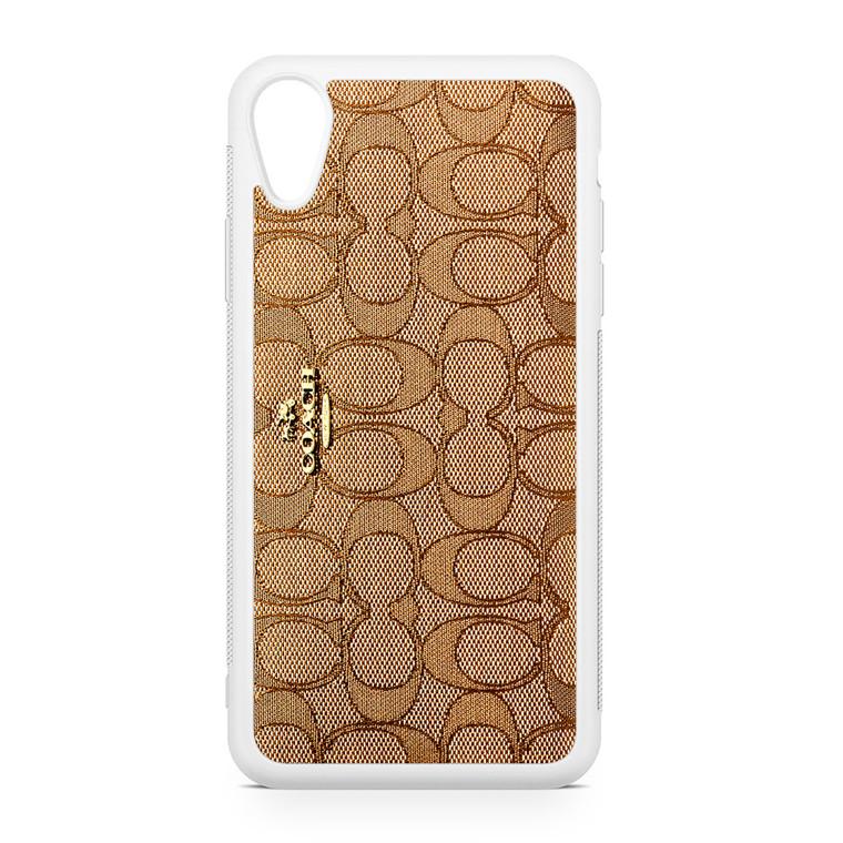 Coach Wallet iPhone XR Case