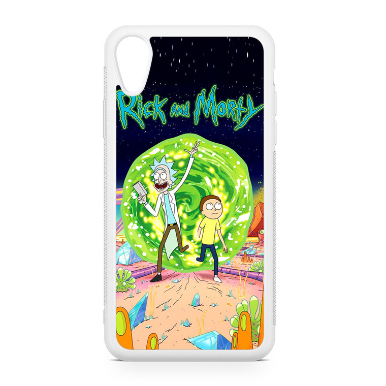 Rick and Morty Poster iPhone XR Case