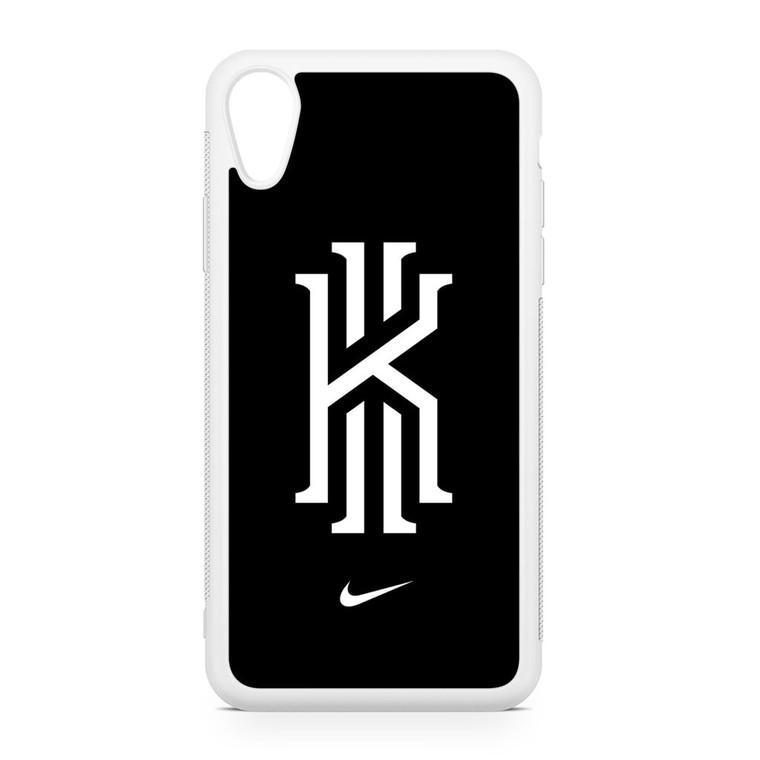 Kyrie Irving Nike Logo Black1 iPhone XR Case