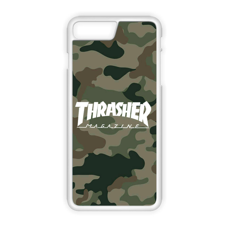 Thrasher Magazine Bape Camo iPhone 8 Plus Case