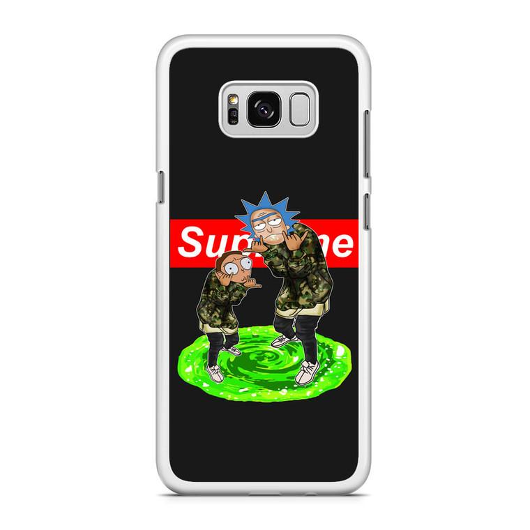 Rick and Morty Supreme Samsung Galaxy S8 Plus Case