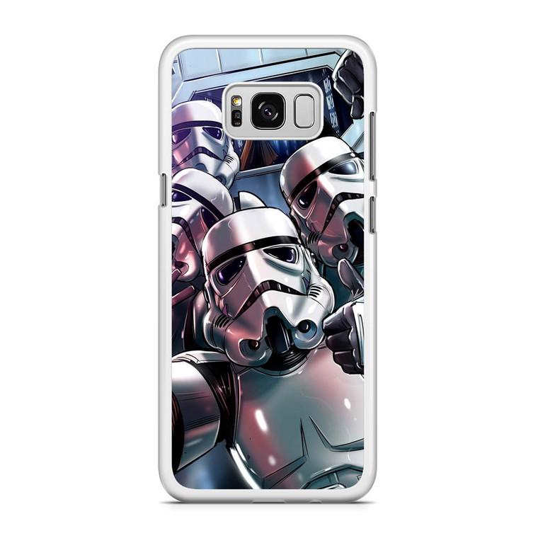Star Wars Stormtrooper Selfie Samsung Galaxy S8 Plus Case