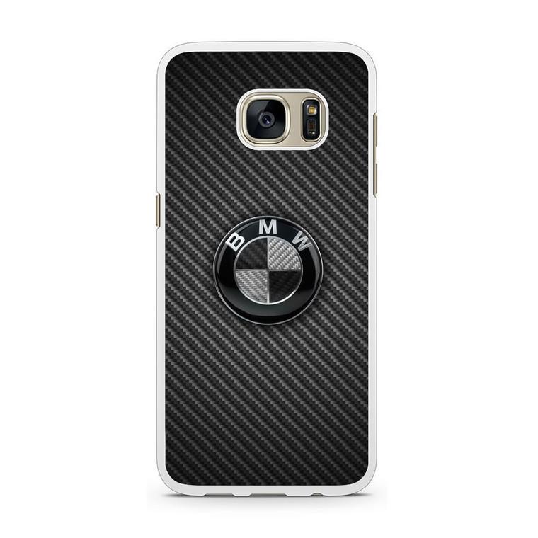 BMW Black Carbon Samsung Galaxy S7 Case