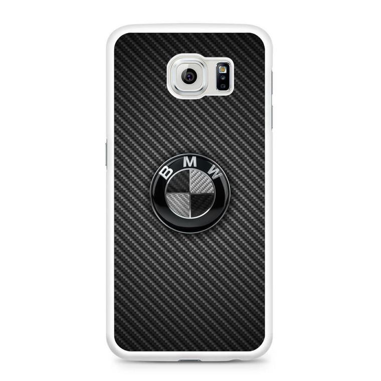 BMW Black Carbon Samsung Galaxy S6 Case